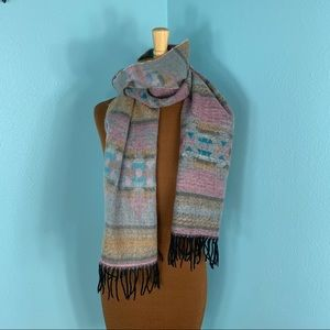 Softer Than Cashmere D&Y Pink Southwest Scarf